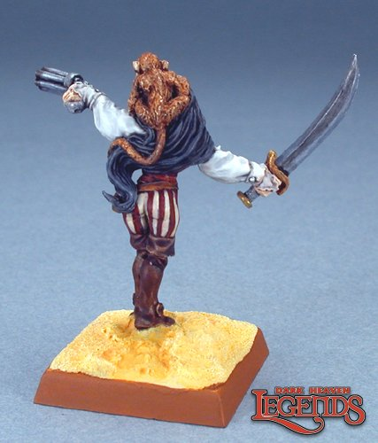 Reaper Miniatures Sela Windsprite, Elf Pirate 03128 (metal)