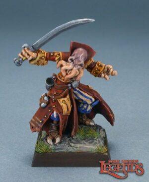 Reaper miniatures B'thuhl, Bathalian Pirate 03135 (metal)