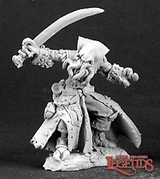 Reaper miniatures B'thuhl, Bathalian Pirate 03135 (metal)