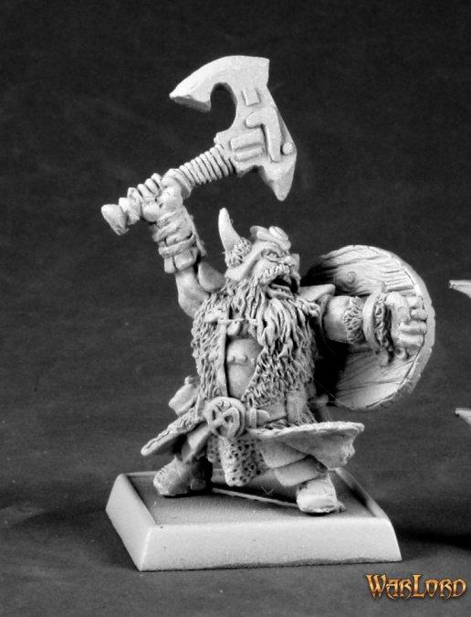 Reaper Miniatures Dhulrekk Thulfinson, Rune Warrior 14588 (metal)