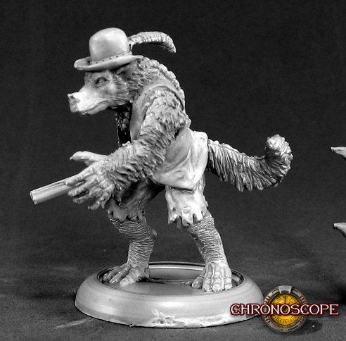 Reaper Miniatures Jesse Moonwalker, Werewolf Tracker 50045 (metal)