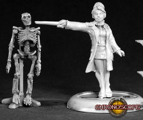 Reaper Miniatures Professor Laura Pringle