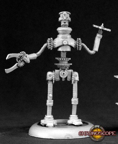 Reaper Miniatures Jeeves, Clockwork Robot 50063 (metal)