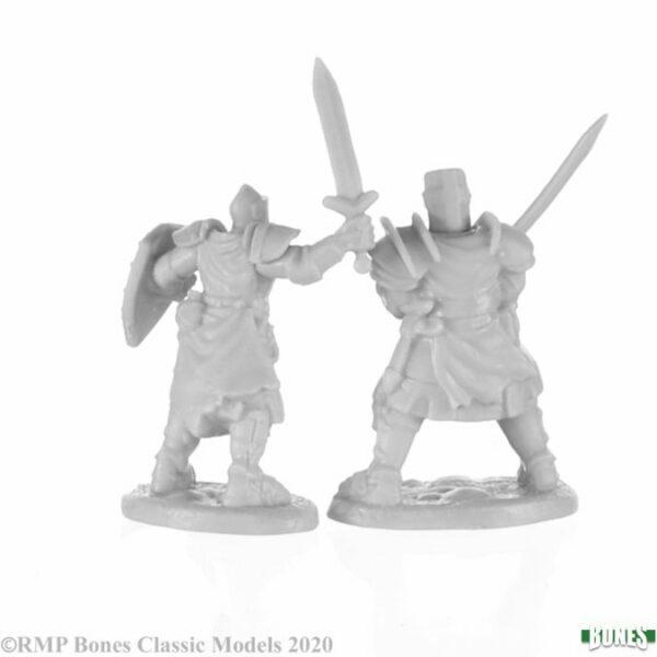 Reaper Miniatures Knight Heroes (2) 77676