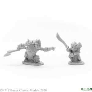 Reaper Miniatures Armored Goblin Leaders (2) 77678
