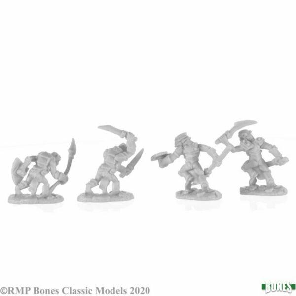 Reaper Miniatures Armored Goblin Warriors (4) 77679