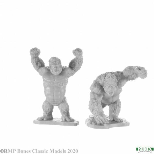 Reaper Miniatures Killer Apes (2) 77690