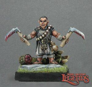Reaper Miniatures Biff, Halfling Monk 02709 (metal)