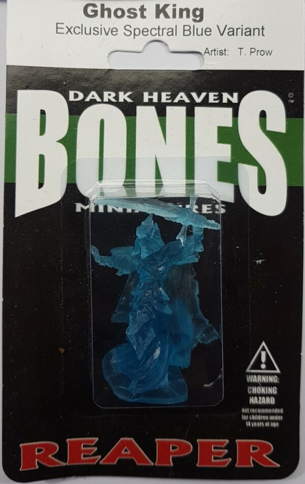 Reaper Miniatures Ghost King 77161 Spectral Blue Variant