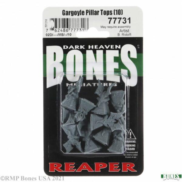 Reaper Miniatures Gargoyle Pillar Tops (10)