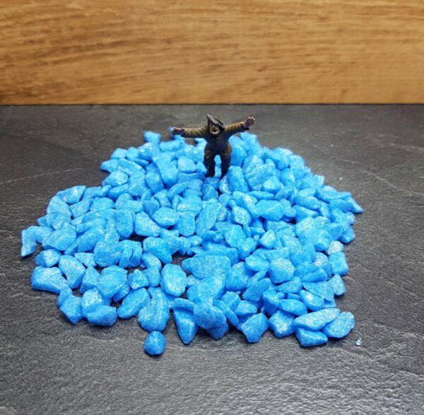 Stone: Blauw 100 Gram Scenery en Zo