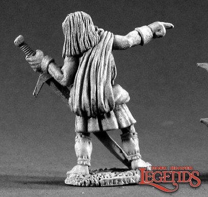 Reaper Miniatures Robert O'Mannon 02243 (metal)