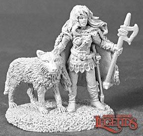 Reaper Miniatures Shawna Wolfsister 02451 (metal)