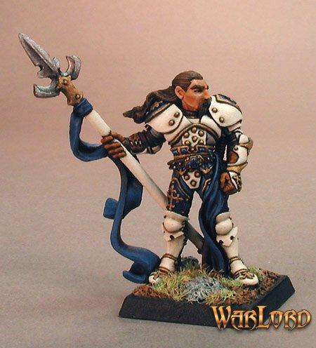 Reaper Miniatures Lord Ironraven, Crusaders Captain 14005 (metal)