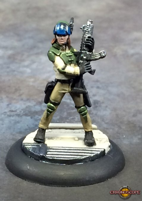 Reaper Miniatures Tess, Adventuring Heroine 49020