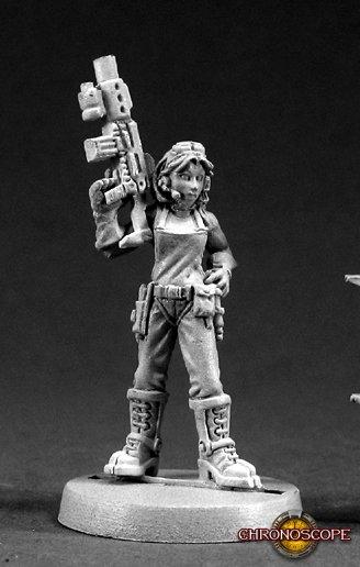 Reaper Miniatures Rosie Chronotechnician 50016 (metal)