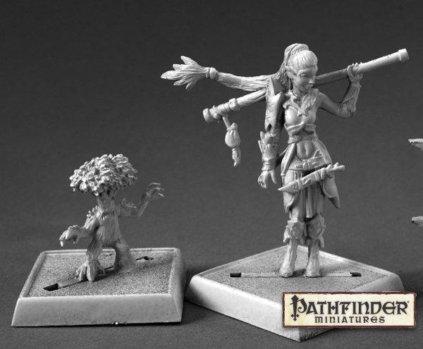 Reaper Miniatures Druid and Familiar 60147 (metal)