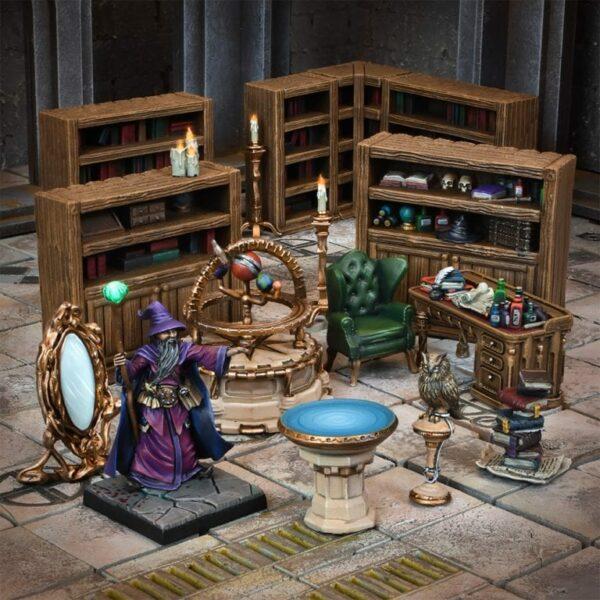 Wizards Study Mantic MGTC105