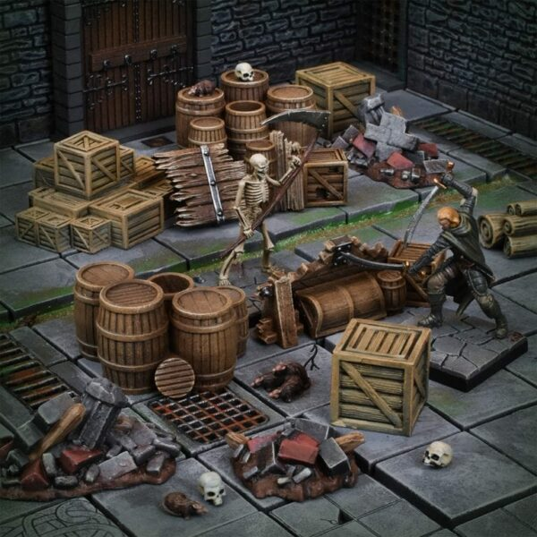 MGTC Dungeon Debris Mantic