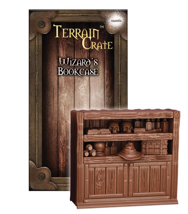 Wizards Bookcase Mantic MGTC152