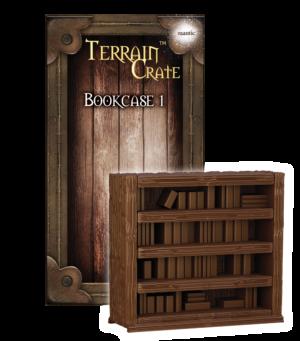 Bookcase 1 Mantic MGTC156