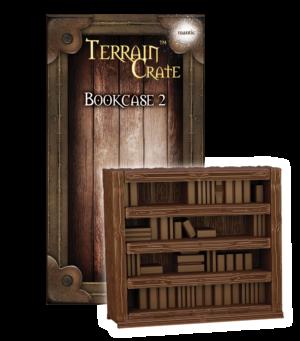 Bookcase 2 Mantic MGTC157