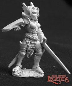 Reaper Miniatures Yvonne, Warmaiden 02573 (metal)