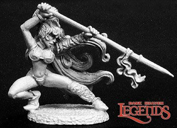 Reaper Miniatures Taryn, Spearmaiden 02808 (metal)