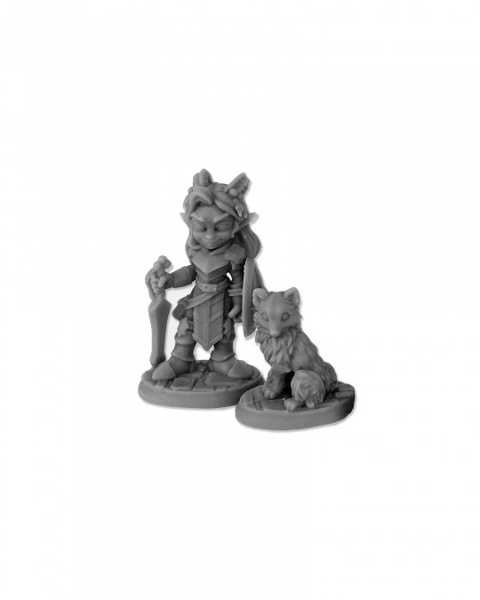 Reaper Miniatures Holly Monster and Firn 04045 (metal)