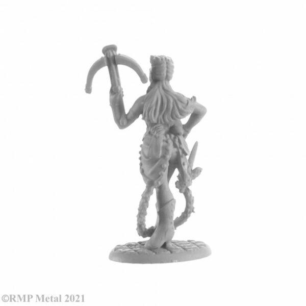 Reaper Miniatures Syndra Cauvadinard, Huntress 04046 (metal)