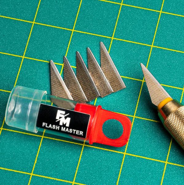 Scenery en Zo Flasmaster Blades