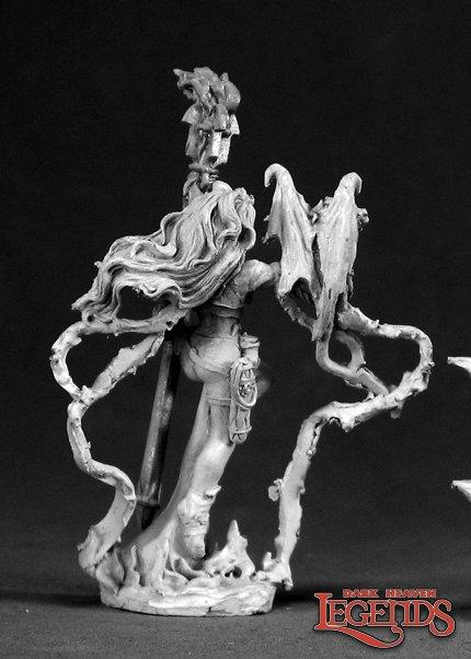 Pharess, Fire Sorceress 03025 (metal)