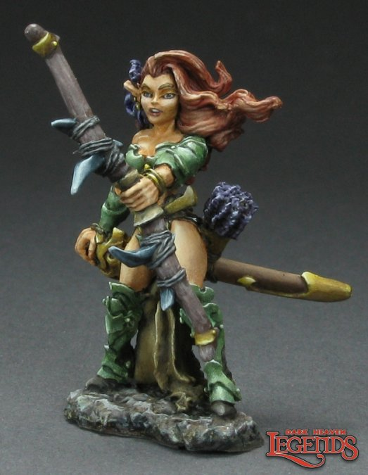 Valise, Dark Elf Tunnel Ranger 03325 (metal)