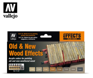 Vallejo Old & New Wood Effects 71.187