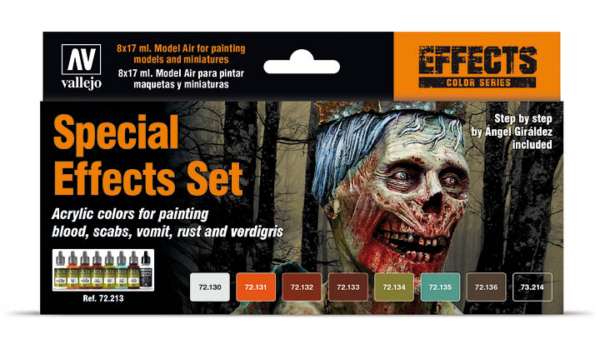 Vallejo Special Effects set 72.213