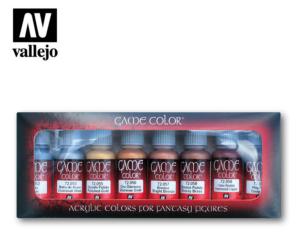 Vallejo Metallic Colors set 72.303