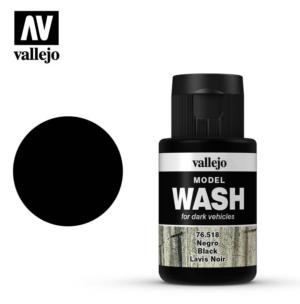 Vallejo Black Model Wash 76.518