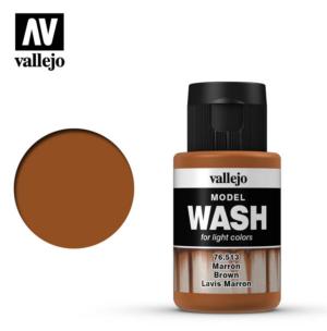 Vallejo Brown Model Wash 76.513