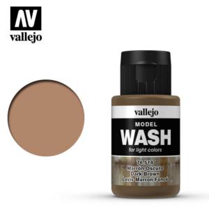 Vallejo Dark Brown Model Wash 76.514