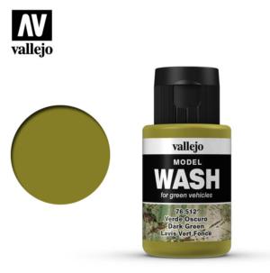 Vallejo Dark Green Model Wash 76.512