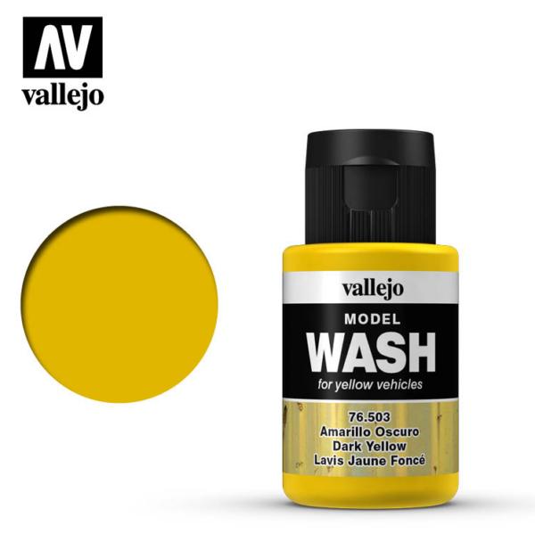 Vallejo Dark Yellow Model Wash 76.503