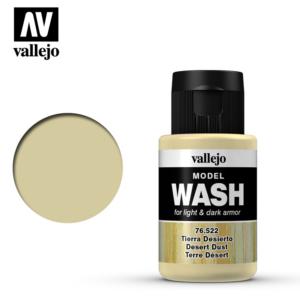 Vallejo Desert Dust Model Wash 76.522