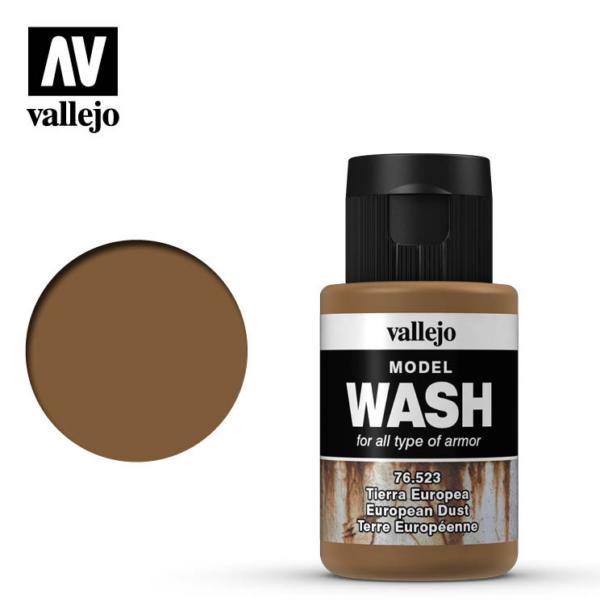Vallejo European Dust Model Wash 76.523