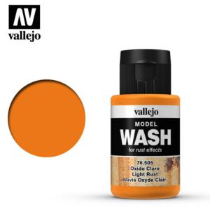 Vallejo Light Rust Model Wash 76.505