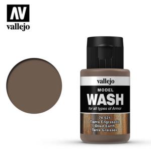 Vallejo Oiled Earth Model Wash 76.521