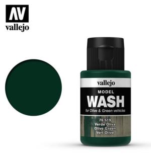 Vallejo Olive Green Model Wash 76.519