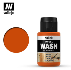 Vallejo Rust Model Wash 76.506