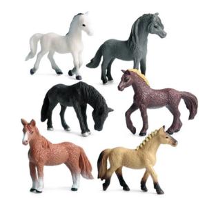 Scenery en Zo paarden 6x