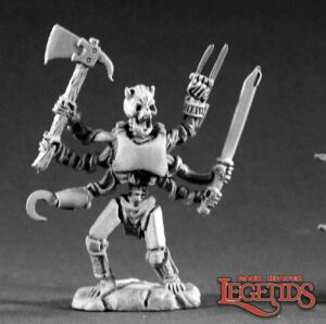 Reaper Miniatures Arachno Sergeant (Metal) 02158