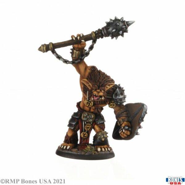 Reaper Miniatures Bhonk, Bugbear Chieftain 30005